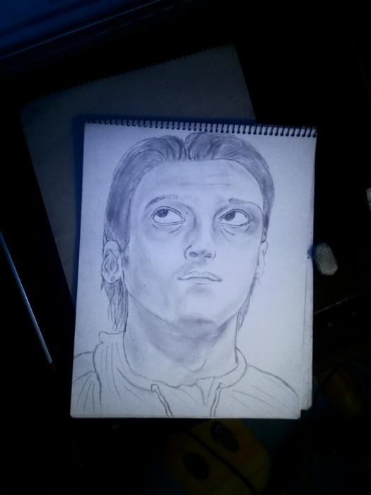 Mesut Özil by imad
